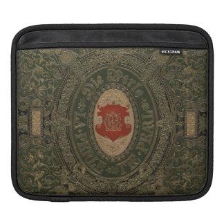Ancient Goth Grunge Leather iPad Sleeve