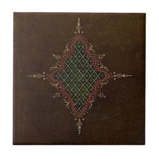 Ancient Goth Grunge Leather Ceramic Tiles