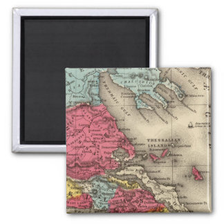 Ancient Greece 2 2 Inch Square Magnet