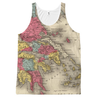 Ancient Greece 2 All-Over Print Tank Top