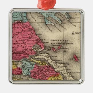 Ancient Greece 2 Metal Ornament