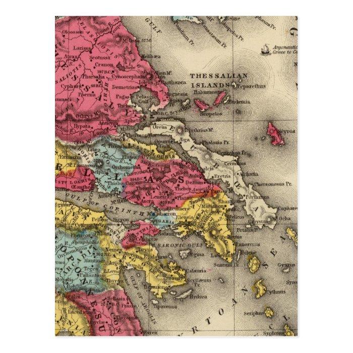 Ancient Greece 2 Postcard