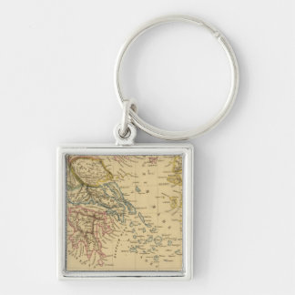 Ancient Greece at the beginning of Christian Era Keychain