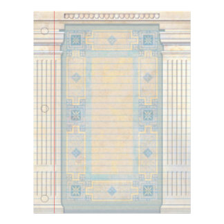 Ancient Greece Fantasy Notebook Paper