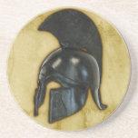 Ancient Greece Helmet Coaster