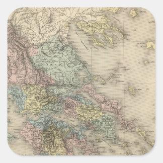 Ancient Greece Square Sticker