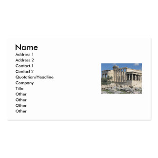 Ancient Greece - The Acropolis - Business Card