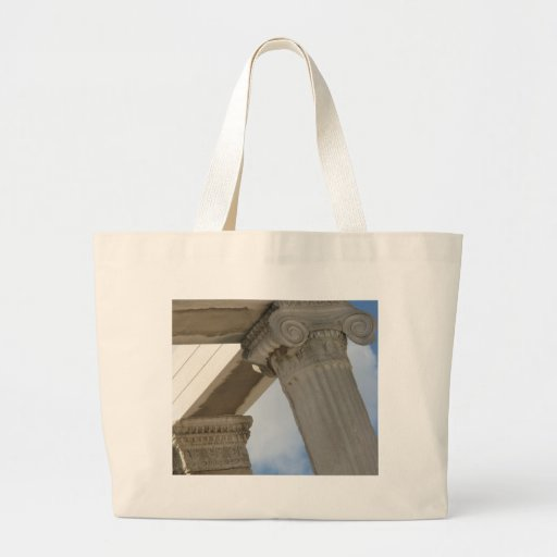 Ancient Greek Architectural Columns Jumbo Tote Bag