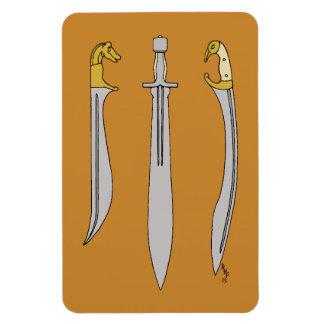 Ancient Greek Blades Flexible Magnet