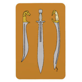 Ancient Greek Blades Magnet