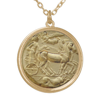 ANCIENT GREEK COIN APOLLO CUSTOM NECKLACE
