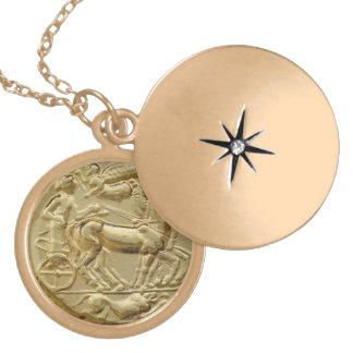 ANCIENT GREEK COIN APOLLO JEWELRY