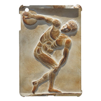 Ancient Greek Discus Thrower -  Discobolus iPad Mini Covers