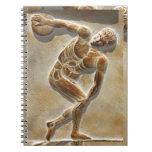 Ancient Greek Discus Thrower -  Discobolus Notebook