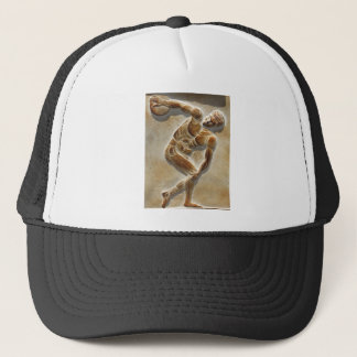 Ancient Greek Discus Thrower sculpture Trucker Hat