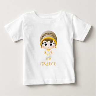 Ancient Greek Girl Baby T-Shirt