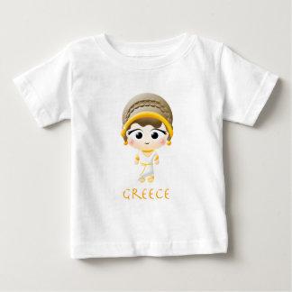 Ancient Greek Girl Baby T-Shirt