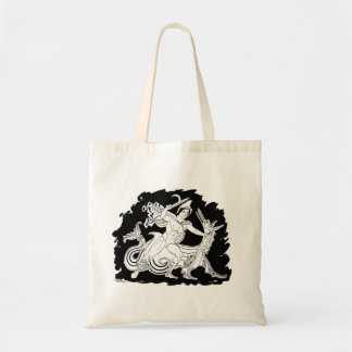 Ancient Greek Hero and the Dragon Tote Bag