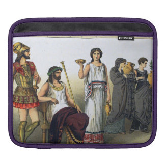 Ancient Greek Sleeves For iPads