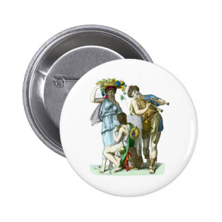 Ancient Greek Musicians and Country Folk Pins
