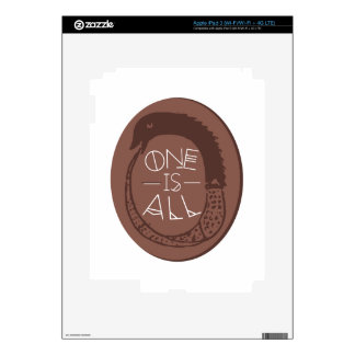 Ancient Greek Ouroboros Decal For iPad 3