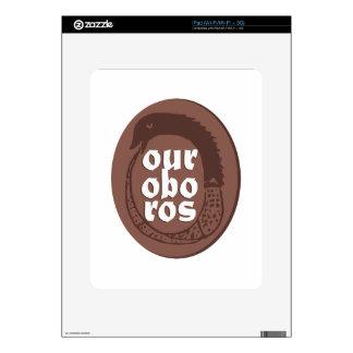 Ancient Greek Ouroboros iPad Decals