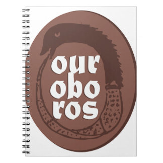 Ancient Greek Ouroboros Notebook