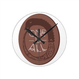 Ancient Greek Ouroboros Round Clock