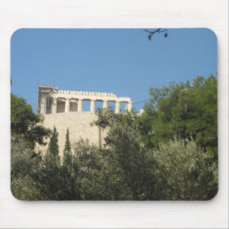 Ancient Greek Parthenon from afar Mouse Pad