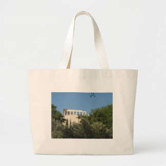 Ancient Greek Parthenon from afar Tote Bag