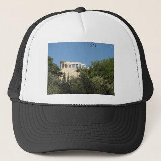 Ancient Greek Parthenon from afar Trucker Hat