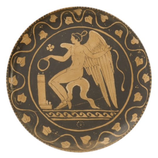 Ancient Greek Plate Zazzle Com