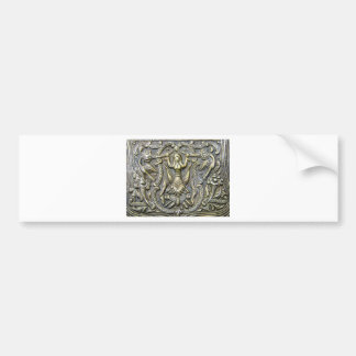 ANCIENT GREEK PROTECTOR/ LUCKY CHARM BUMPER STICKER