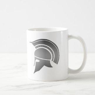 Ancient Greek Spartan Helmet Coffee Mug