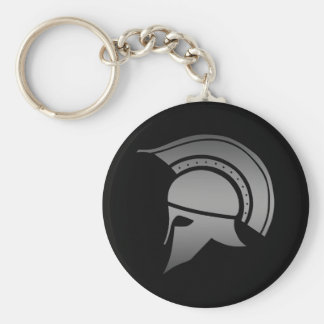 Ancient Greek Spartan Helmet Keychain