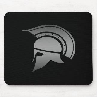 Ancient Greek Spartan Helmet Mouse Pad