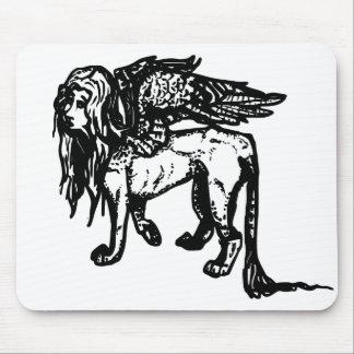 Ancient Greek Sphinx (Leo/Virgo) Mouse Pad