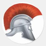 Ancient Greek Warrior Helmet Stickers