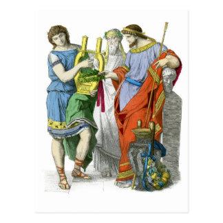 Ancient Greeks Postcard