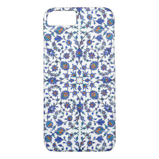 Ancient Handmade Turkish Floral Tiles Pattern iPhone 7 Case