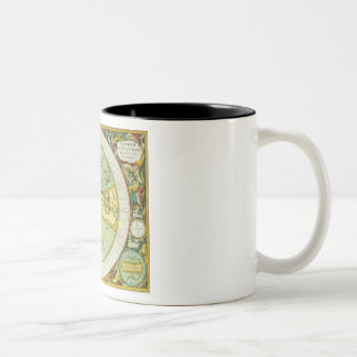 Ancient Hemispheres of the World, plate 94 from 'T Two-Tone Coffee Mug