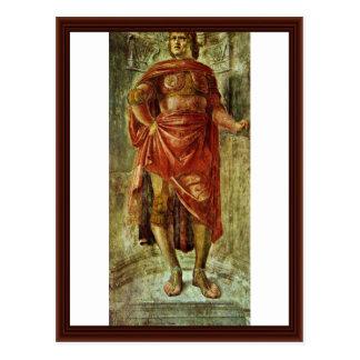 Ancient Hero By Bramante Donato Postcards