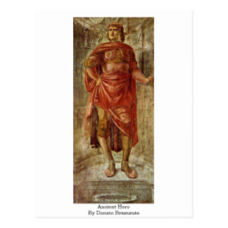 Ancient Hero By Donato Bramante Postcards