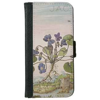 Ancient Historical Art Monogram iPhone 6/6s Wallet Case