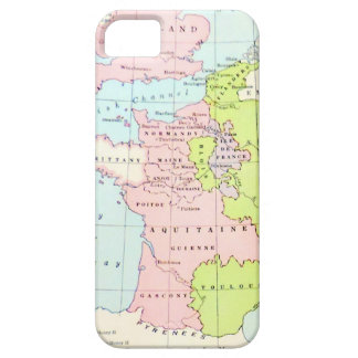Ancient Historical Map Europe Normandy Aquitaine iPhone SE/5/5s Case