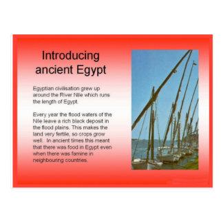 Ancient history, Egyptian civilization Postcard