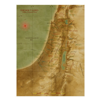 Ancient Holy Land Poster