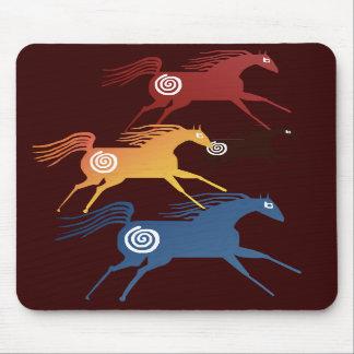 Ancient Horses Mousepad