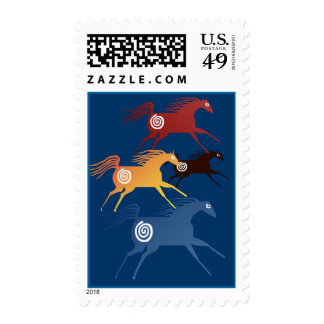 Ancient Horses  Postage
