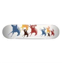 Ancient Horses Skateboard